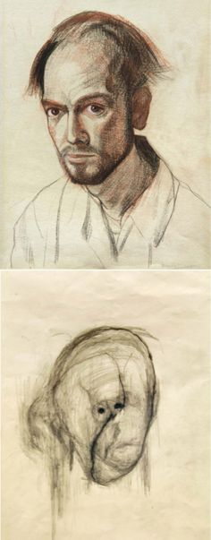At the age of 61, William Utermohlen was diagnosed with Alzheimer's disease. In response to the illness, the artist immediately began to paint an ambitious series of self-portraits.