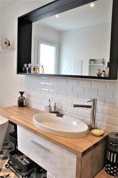Rendez-vous déco : la rénovation de la salle de bain avant / après travaux