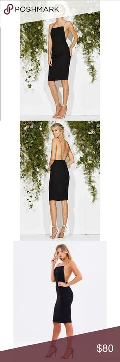 0689359a4494 Maurie + Eve Square Neckline Backless Dress Style: Oh My My Dress This sexy,