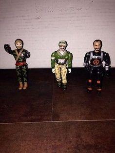 Vintage Lanard CORPS! - Toxic Waster, Hiro Yamata, Avalanche Action Figures Lot
