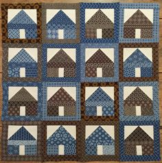 We are obsessed with collection of quilts! The quilt in the picture was made with their Khayamandi Quilt Kits in the colours indigo and chocolate.