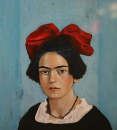 Frida kahlo as a child by Steve Leal