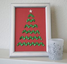 Christmas Tree Tutorial I Love The Simple Beauty Of This Decoration