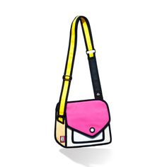 Pink Jump from paper purse - $89