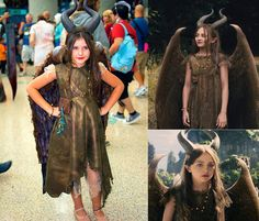 Young Maleficent Cosplay. She looks so powerful and intimidating! With Valentina Luna Campana. Do you know who she is?