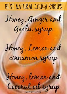 natural Cough Syrups