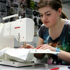 Our fan @puffythedragon is sewing away with BERNINA! #sewing #BERNINAselfie