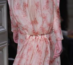 Valentino S/S '12 close up