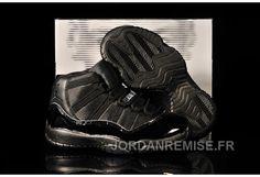 5e724d7debd4 Best Gift Kids Air Jordan 11 All Black Fashion Shoes Store Nike Shoes Cheap