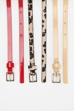 The essential skinny belts. #urbanoutfitters