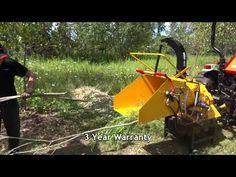 2013 WoodMaxx WM-8H Hydraulic Auto-Feed Wood Chipper