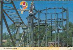 zambezi zinger - my favorite childhood roller coaster Roller Coasters, Oldies But Goodies, Amusement Park, Worlds Of Fun, Oceans, Stuff To Do, Childhood, Memories, Google Search