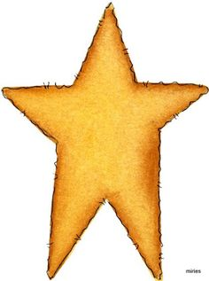 Rustic Star Outline Clip Art Pictures To Pin On Pinterest