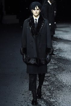 But, as the population has aged, so to has early adopters attitude about what is appropriate or expected to wear to a funeral.  One designer who acted on this cultural zeitgeist is menswear designer, Thom Browne.  Inspired by an exhibit at the New York Metropolitan Museum of Art, Browne designed a collection for mourning.  http://www.bevival.com/blog//esdocukgmipaqd7cajh7q5uu0qb62dhttp://www.bevival.com/blog