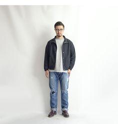 【楽天市場】Upscape Audience 撥水 リップストップナイロン スタンドカラー コーチジャケット 日本製 メンズ:MARC ARROWS楽天市場店
