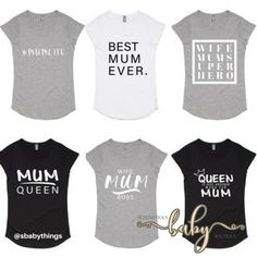 Enter to win: We are so excited to giveaway one last MUM Tee for mother's day!  Winner gets to choose design and size. | http://www.dango.co.nz/pinterestRedirect.php?u=cNZKDxTWRGS4639
