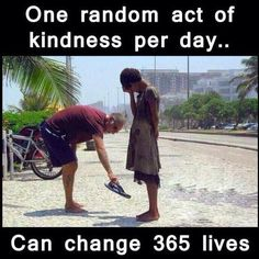 Today's Message – Random Acts of Kindness is Contagious?