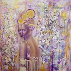Ascension, Mixed Media on Canvas, by Sabrina Brett
