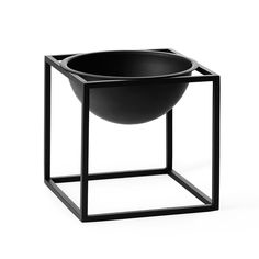 Kubus Bowl Skål Small, Sort, by Lassen