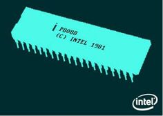 The Intel 8088 processor powered the first successful PC, created by IBM in 1981. #intel