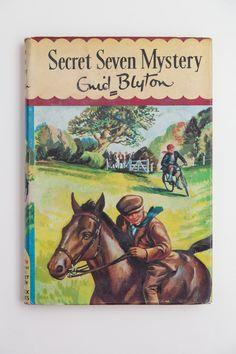 Secret Seven Mystery by Enid Blyton, Vintage Book 1957, First Edition by PenelopeCatVintage on Etsy