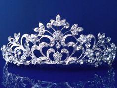 Princess Bridal Wedding Prom Rhinestone Crystal Tiara