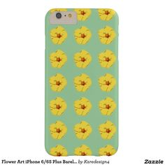 Flower Art iPhone 6/6S Plus Barely There Case