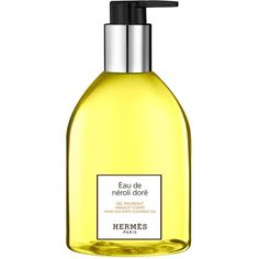 Women's Hermes Eau De Neroli Dore - Hand And Body Cleansing Gel (105 BAM) ❤ liked on Polyvore featuring beauty products, bath & body products, body cleansers, no color, cologne perfume, blossom perfume, hermes perfume, eau de cologne and hermès