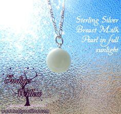 Breast Milk Pearl: Breast Milk Jewelry & Keepsakes from Indigo Willow