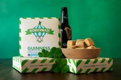 Guinness marshmallows - great treat for the guys!! Just ordered some for next weekend!
