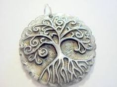 tree of life polymer clay pendant - Google Search