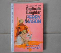 Perry Mason The Case of the Duplicate Daughter (1962) Erle Stanley Gardner PB