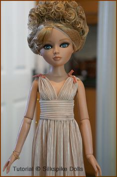 Silkspike Dolls - Tutorial Grecian Dress