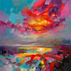 Nucleus print by Scott Naismith