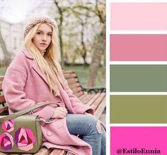 Moda y Estilo: Cómo combinar los colores para crear un look perfecto 💙💙 Chicas!! Os dejamos algunos ejemplos y esperamos que os sean útiles