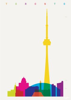 Shapes of Cities Toronto by Yoni Alter