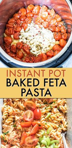 The TikTok viral recipe everyone's talking about, Instant Pot Baked Feta Pasta, gets a buffalo chicken twist! This easy pasta recipe is incredibly simple to make with amazing flavors. You'll love how… Best Instant Pot Recipe, Instant Pot Dinner Recipes, Supper Recipes, Delicious Dinner Recipes, Lunch Recipes, Chicken Pasta Recipes, Easy Pasta Recipes, Healthy Chicken Recipes, Beef Recipes