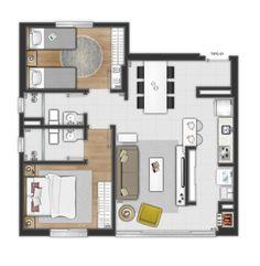 Explore 3DIMAGEMSTUDIO photos on Flickr. 3DIMAGEMSTUDIO has uploaded 1722 photos to Flickr. Small Apartment Plans, Apartment Floor Plans, Apartment Layout, Apartment Interior, Small Apartments, Guest House Plans, Sims House Plans, Small House Plans, House Floor Plans