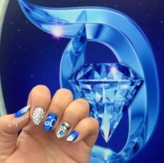 Pin for Later: Celebrate Disneyland's 60th Anniversary With Magical Manicures Party On