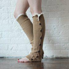 Caramel Leg Warmers
