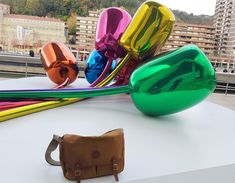 Our Brand ambassador Tim Campbell with his Chapman Bag in Spain (Guggenheim Museum) Brand Ambassador, Travel Bags, Spain, Museum, Luxury, Canvas, Leather, Accessories, Travel Handbags
