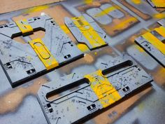 Deadzone terrain tiles weathering painting guide
