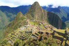 La realidad de un pensamiento, culminado en una arquitectura extraordinaria. Macchu-piccho, Montaña Vieja.