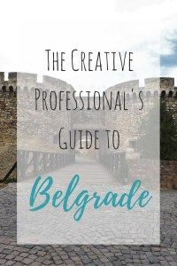 I think Belgrade would be a great place to settle in for a summer and just write.
