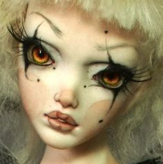 What a fascinating face bjd doll