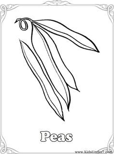 Vegetable Coloring Pages | Kids Under 7: Vegetables Coloring Pages ...