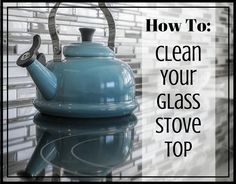 How To Clean Your Glass Stove Top - Cleaning Hacks Deep Cleaning Tips, Household Cleaning Tips, Oven Cleaning, Cleaning Recipes, House Cleaning Tips, Natural Cleaning Products, Cleaning Hacks, Cleaning Toilets, Cleaning Solutions