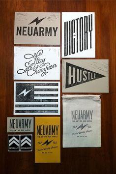 Linocuts | Neuarmy™ — Designspiration