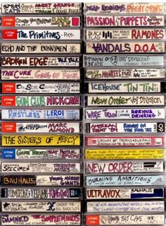 Mixed tapes!!