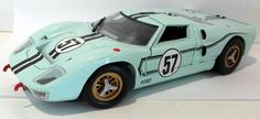 Universal Hobbies 1/18 Scale Diecast - GT40 Ford GT 40 MK2 #57 LM 1967 Hawkins #UNIVERSALHOBBIES #Ford